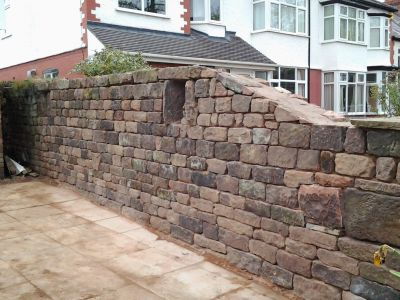 Stone Walls Maintenance. After